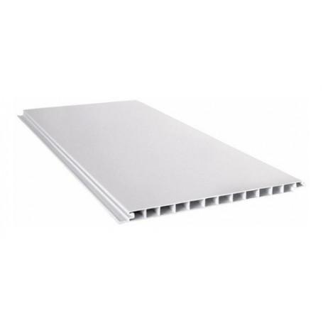 Placa Blanca Cielorraso Pvc 3.5 Metros X 200mm X 10mm