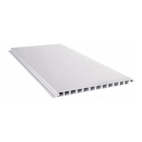 Placa Blanca Cielorraso Pvc 6 Metros X 200mm X 10mm