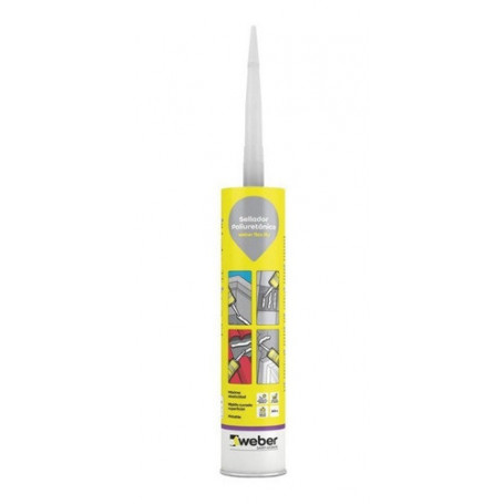 Weber Flex Pu 300ml Adhesivo Sellador Poliuretanico