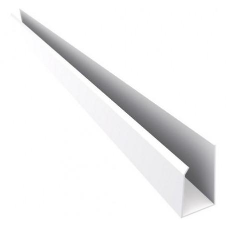 Perfil J De Pvc Blanco 6,00m