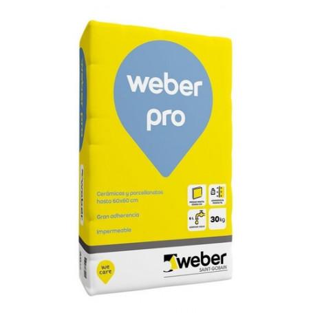 Weber Pro 30 Kg Pegamento