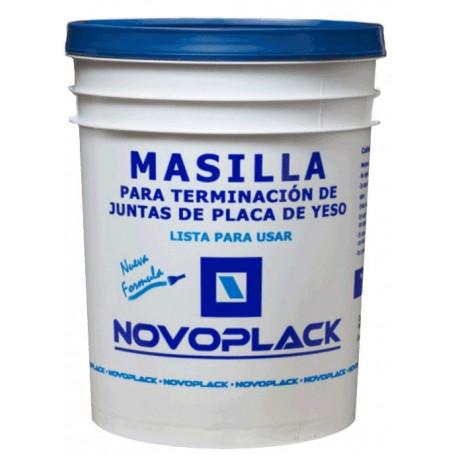 Masilla Novoplack 15 Kg Nueva Formula Lista Para Usar